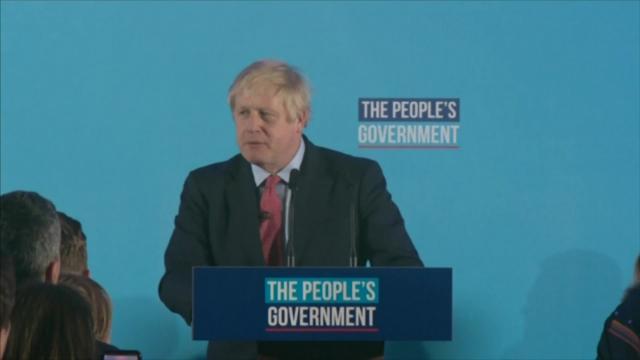 Abrumador triunfo de Boris Johnson abre la puerta al 'Brexit'