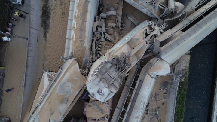 Ferrocarril descarriló en Veracruz por sabotaje