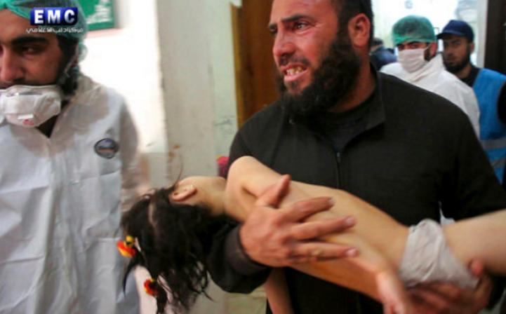 Ya son  72 los muertos en Siria por presunto ataque químico