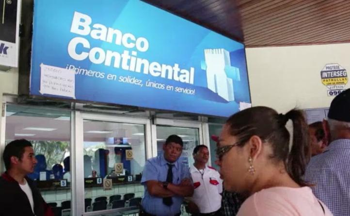 Hondureños temen perder sus ahorros en Banco Continental