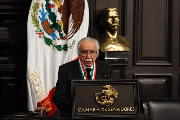 Discurso de Carlos Payán tras recibir la Medalla Belisario Domínguez