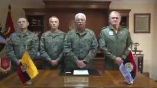 Ecuador: Las Fuerzas Armadas anuncian la extensión del toque de queda