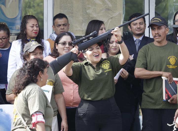 Mensaje de Nestora Salgado al ser liberada
