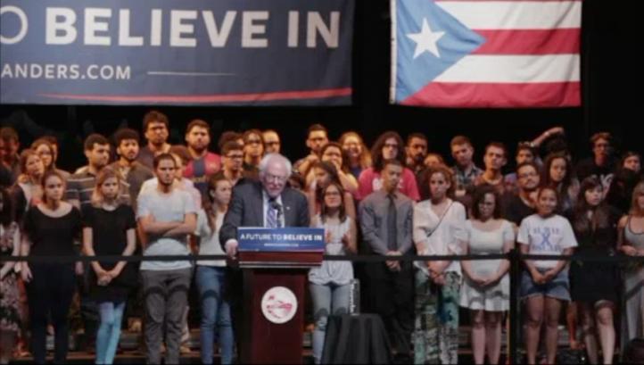 Sanders apoyaría la independencia de Puerto Rico