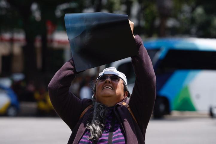 Así se siguió el eclipse en la Ciudad de México