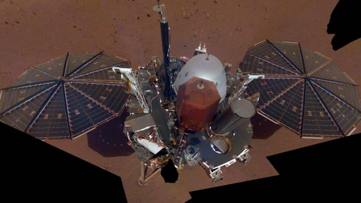 La sonda 'InSight' manda su primera 'selfie' desde Marte