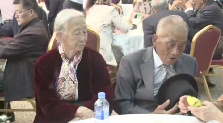 Familias separadas hace 60 años por la guerra de Corea se vuelven a reunir