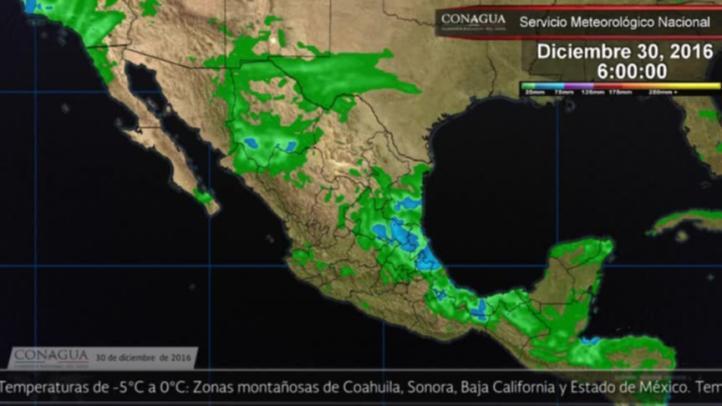 Pronóstico del tiempo para el 30 de diciembre de 2016