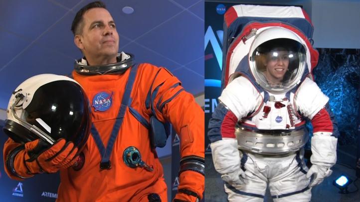 La NASA presenta los trajes espaciales para volver a la Luna