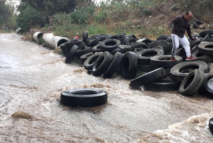Fuga de agua potable en la Gustavo A. Madero