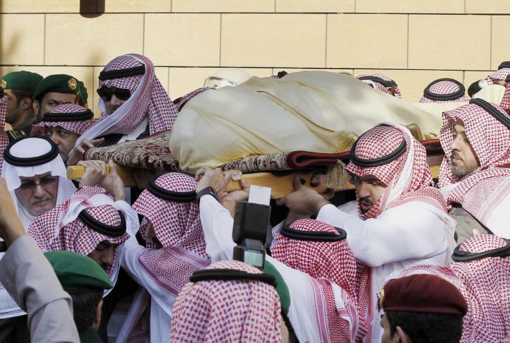Entierran al rey saudi Abdullah