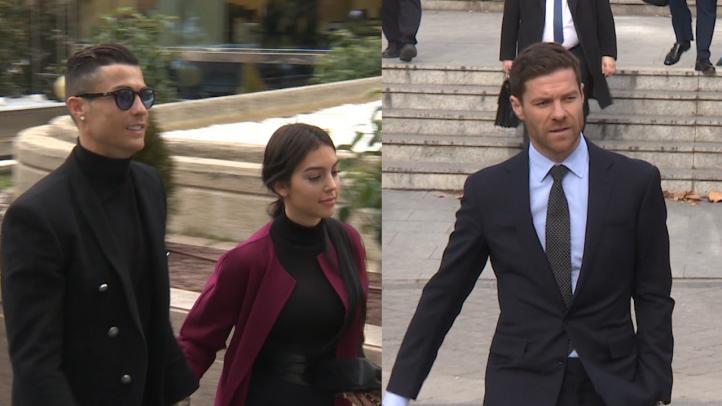 Acepta Cristiano Ronaldo su condena; suspendido juicio a Xabi