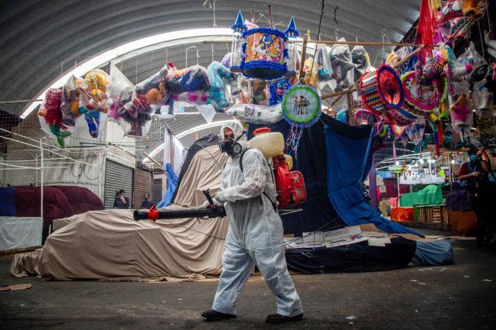 El mercado Jamaica cierra sus puertas, previo al Día de Madres