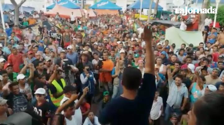 Migrantes rechazan propuesta de EPN