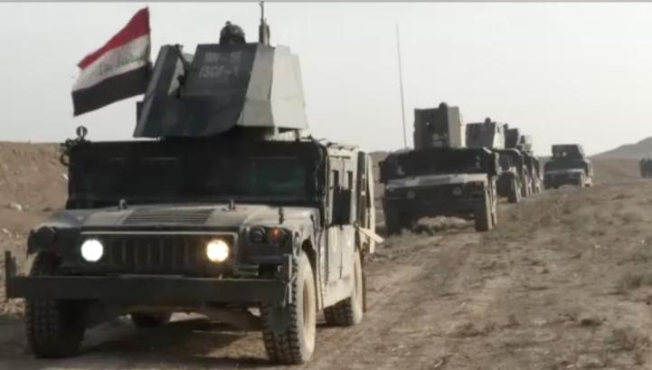 Fuerzas iraquíes ya se encuentran en Mosul