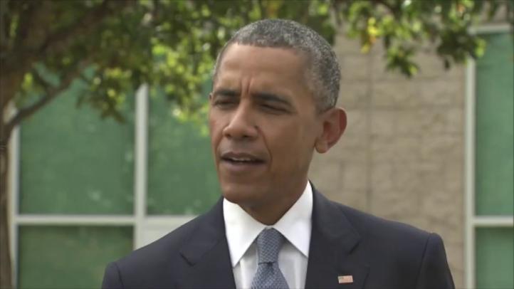 Obama se reúne con familiares de víctimas de Oregon