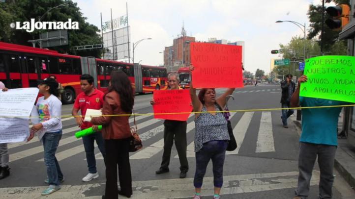 Protestan por desabasto de tratamientos contra cáncer