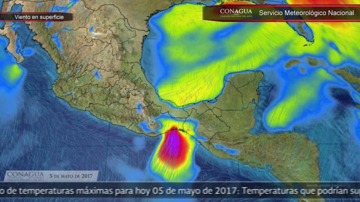 Pronóstico del tiempo para el 5 de mayo de 2017