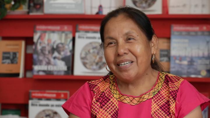 La historia de Marichuy, vocera del Concejo Indígena de Gobierno