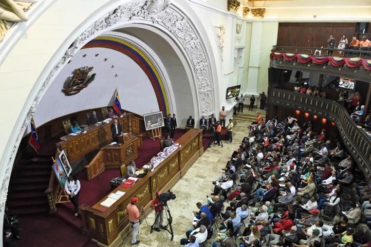 Constituyente de Venezuela retira inmunidad a Guaidó