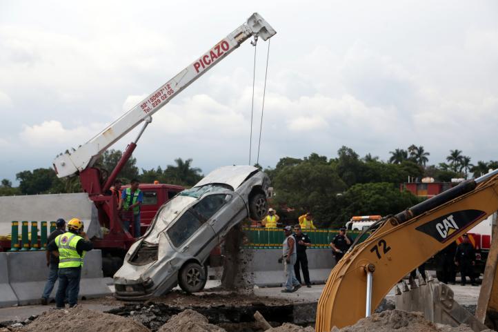Autoridades locales ya habían alertado a SCT sobre riesgos de colapso en el Paso Exprés