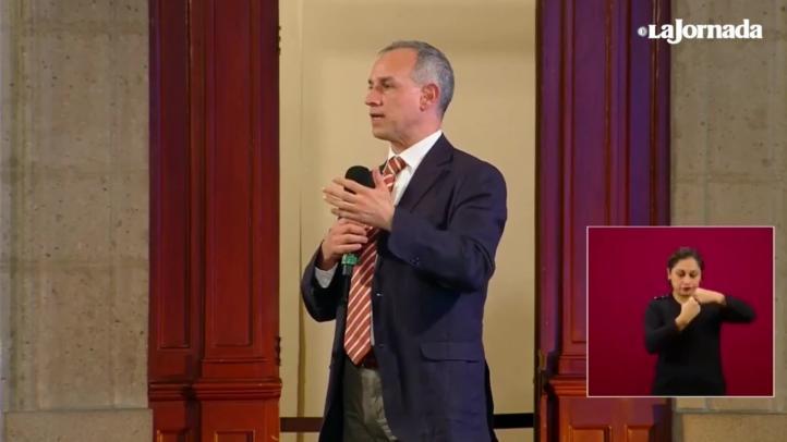 López-Gatell explica por qué el pico de la pandemia no ocurrió en mayo