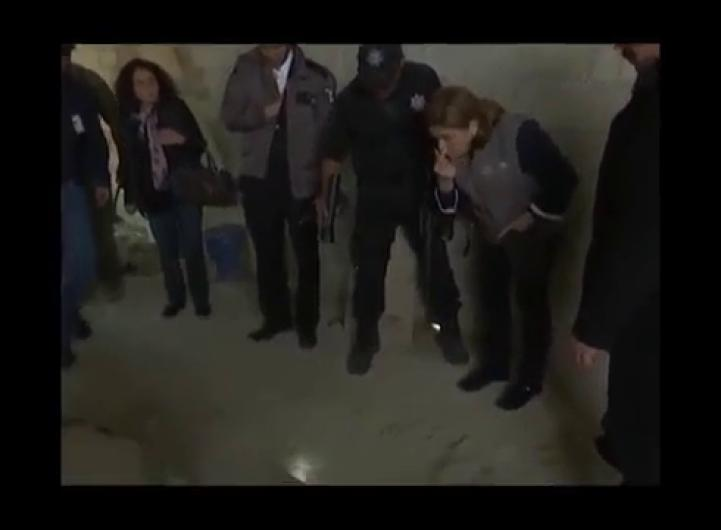 Procuradora en la casa de la fuga de 'El Chapo'