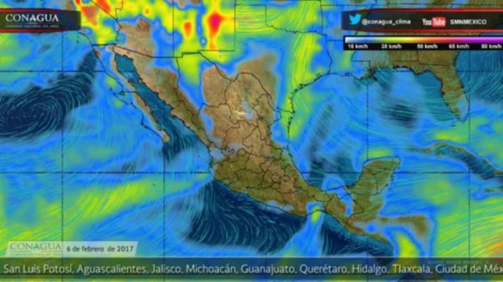 Pronóstico del tiempo para el 6 de febrero