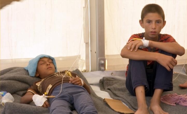 Dos muertos y cientos de intoxicados en campo iraquí