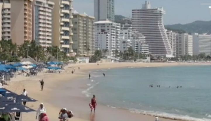 La violencia mata el turismo en Acapulco