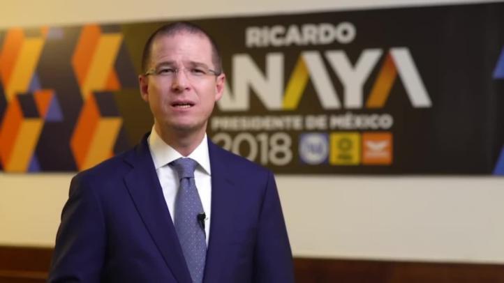 Anaya responsabiliza a Peña Nieto de los nuevos ataques en su contra