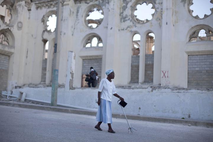 Conmemoran 5to aniversario del terremoto de Haití