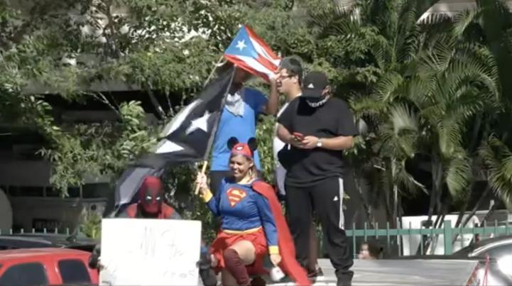 Puerto Rico prepara una gran protesta contra el gobernador