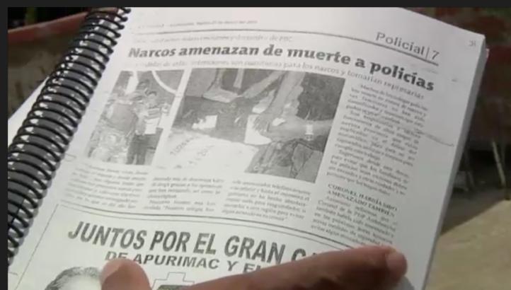 Perú: policía herido en acción lucha por su salud