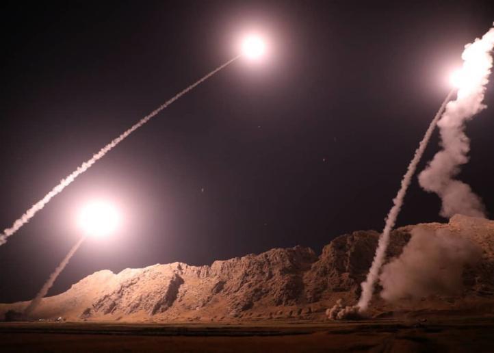 Irán lanzó misiles contra extremistas en Siria
