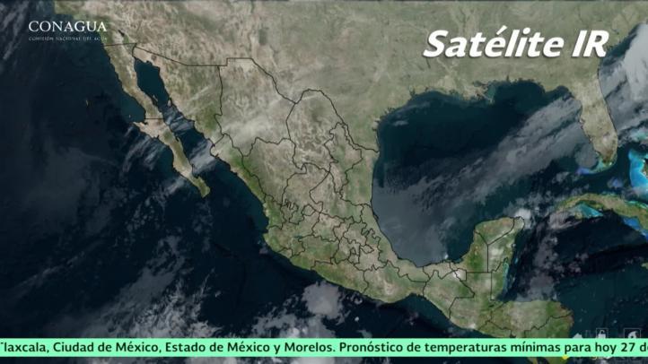 Pronóstico del tiempo para el 27 de noviembre