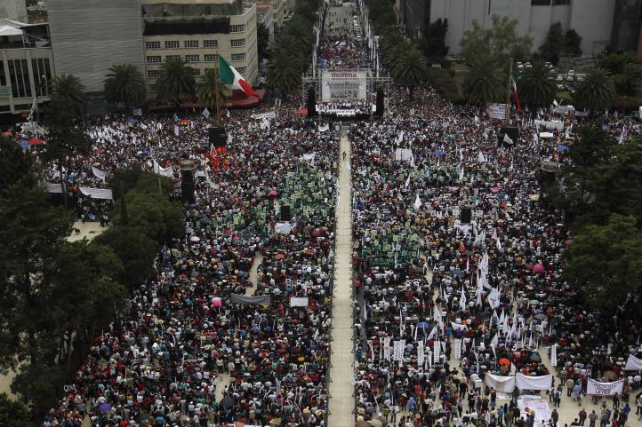Acuerdo de unidad en Morena