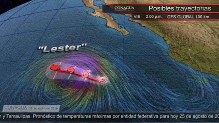 Pronóstico del tiempo para el 25 de agosto
