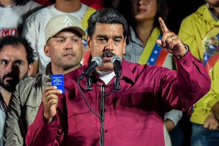 Autoridades venezolanas declaran Nicolás Maduro ganador de elecciones presidenciales