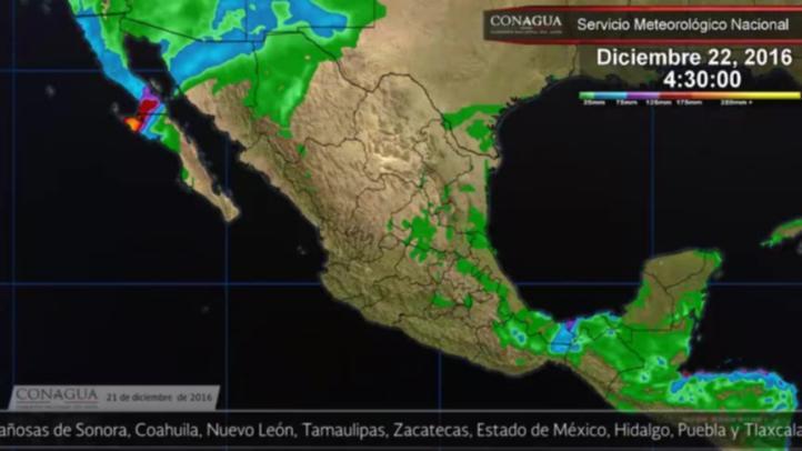 Pronóstico del tiempo para el 21 de diciembre