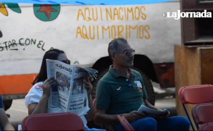 Vecinos de Coyoacán instalan plantón para defender un venero