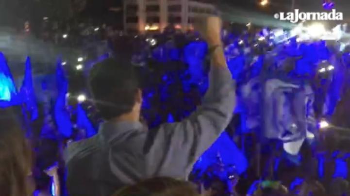 Festeja el PAN ganar por primera vez la gubernatura en Tamaulipas