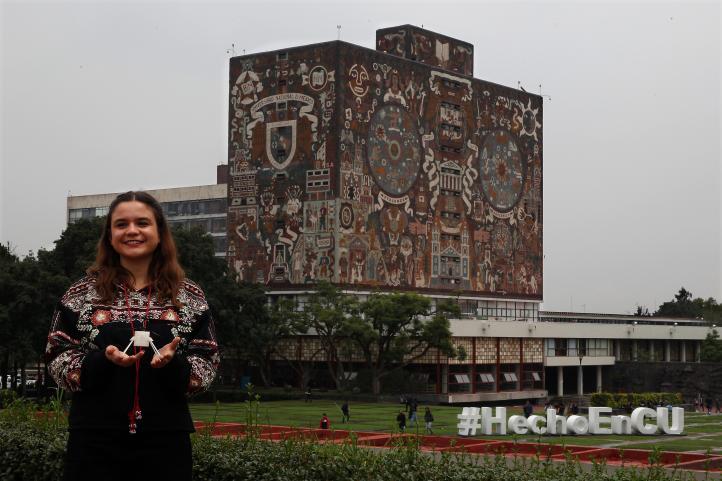 Alumna de la UNAM trabaja en la NASA para crear helicóptero explorador de Marte