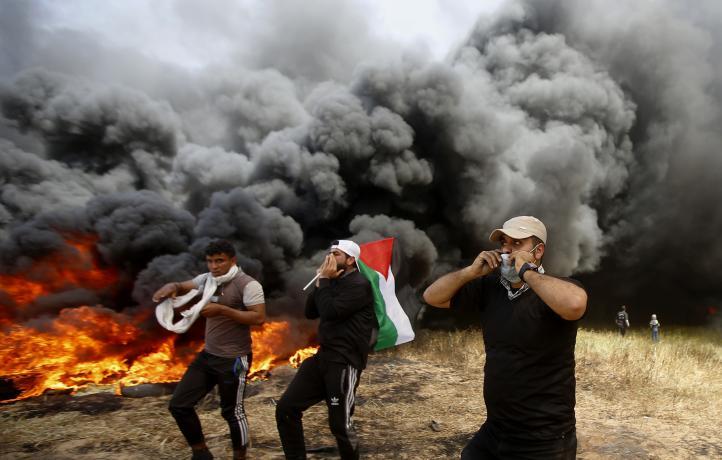 Protestas en frontera de Gaza e Israel: 7 palestinos muertos