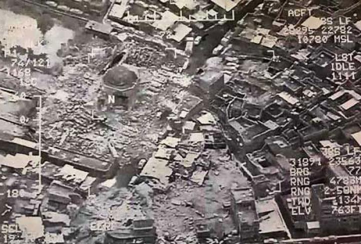 Estado Islámico destruye una famosa mezquita en Mosul
