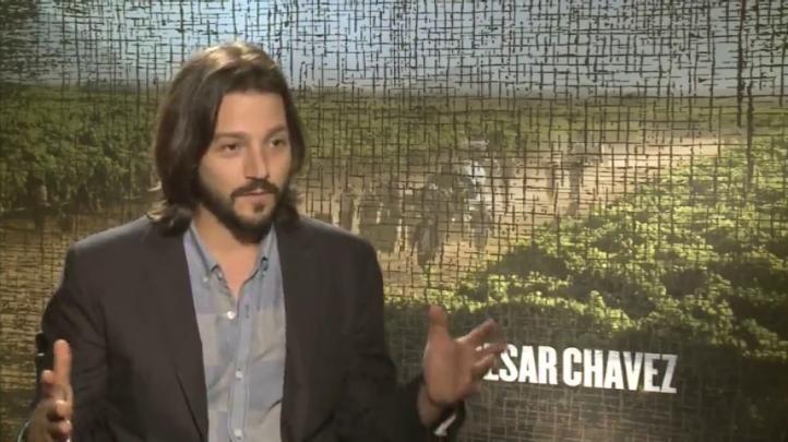 Diego Luna habla sobre película de  César Chávez