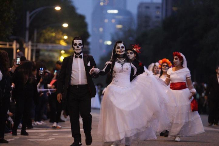 Las catrinas vuelvan a tomar Paseo de la Reforma