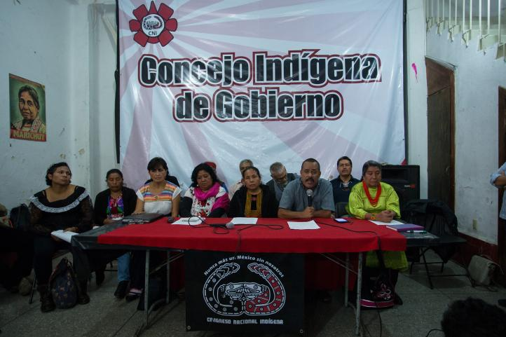 """""""Voten o no, organícense"""": Concejo Indígena de Gobierno"""