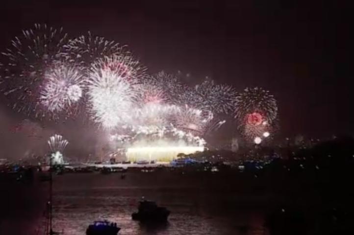 Celebraciones de año nuevo con fuertes medidas de seguridad