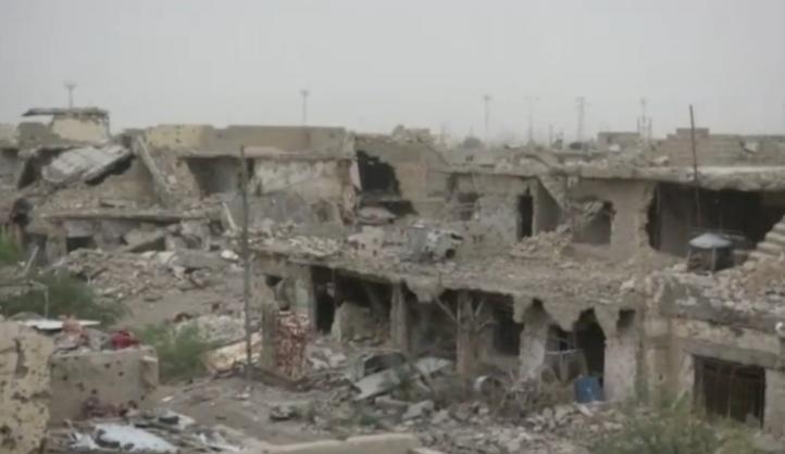 Ramadi quedó en escombros